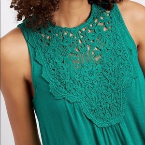 Maurices dressy lace tank